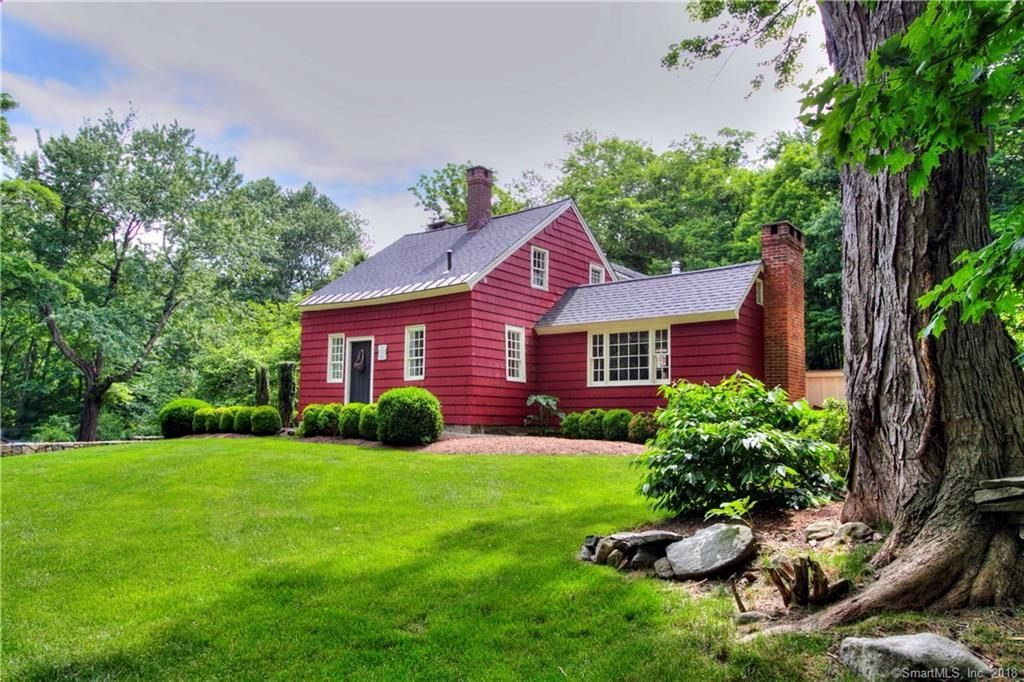 Easton CT barn house