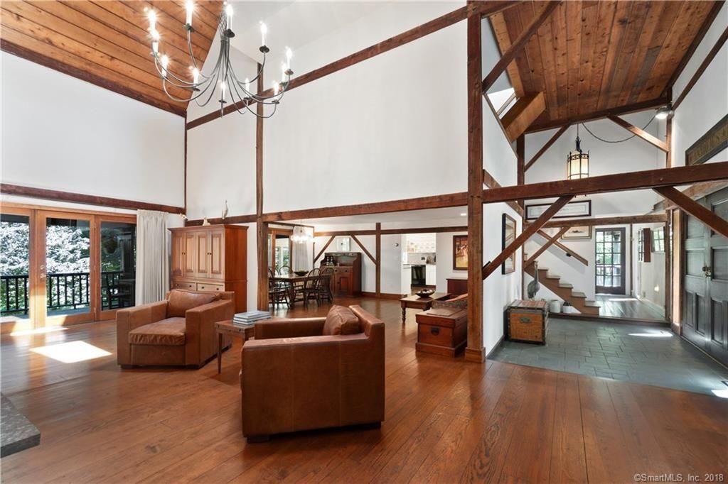 Wilton CT barn home