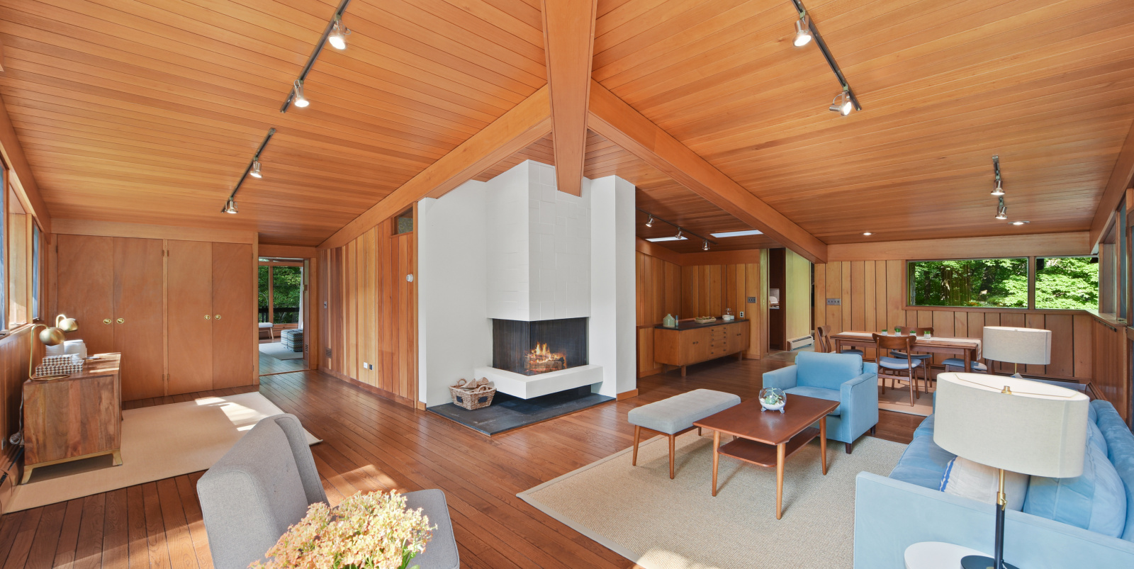Moby lists Westchester midcentury stunner for $1 3M with a