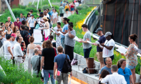 Mile long opera, high line, events, DILLER SCOFIDIO + RENFRO, DAVID LANG
