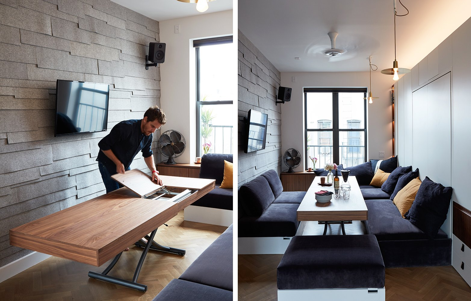 Small Living Advocate Graham Hill Lists His 350 Square Foot Soho Micro Apartment For 750k 6sqft