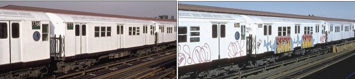 Great white fleet, white subway cars, history, nyc subway