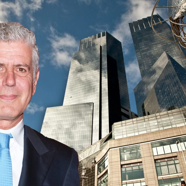 Anthony Bourdain's Columbus Circle condo hits the rental market for $14K/month
