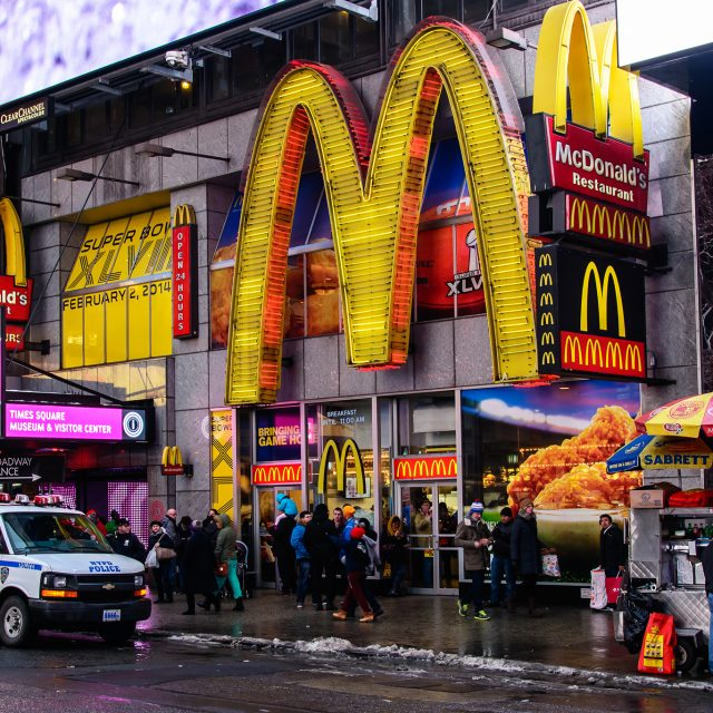 New Yorkers are bypassing food trucks for McDonalds as fast food finds new footing