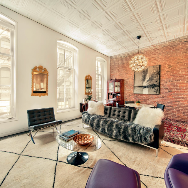 $10K per month rent seems fitting for this photo-ready Tribeca loft