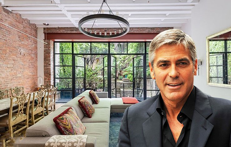 George and Amal Clooney's supposed illegal Soho rental hits the market for $16M