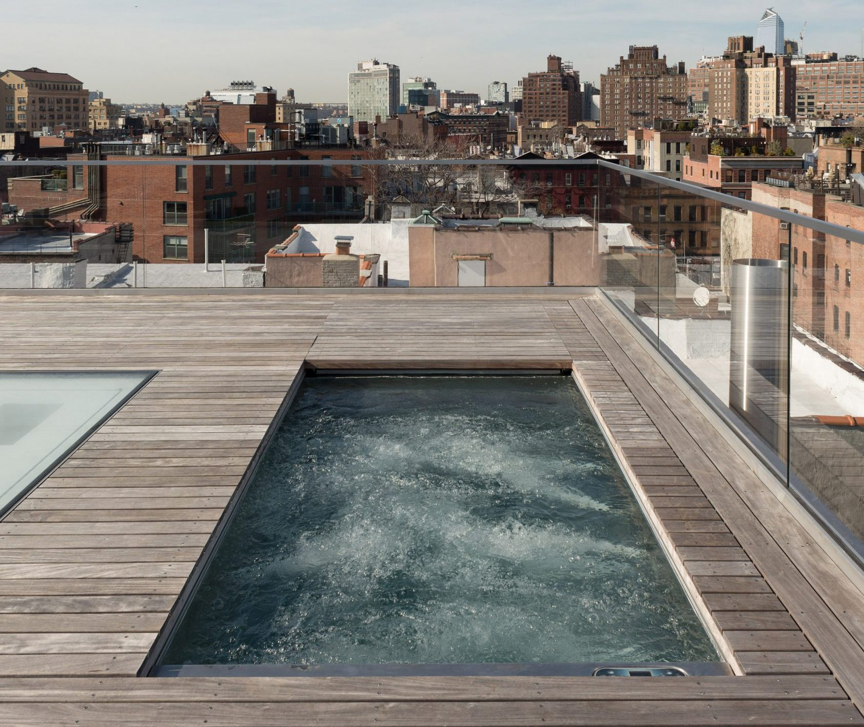 Tbd Design Studio Gave This West Village Penthouse A Complete Overhaul And A Private Rooftop Pool 6sqft