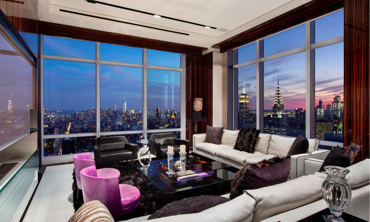 20 Cool Master Bedroom Designs Collection: Massive $39M Trump World Tower 'sky Mansion' Has 16 Rooms