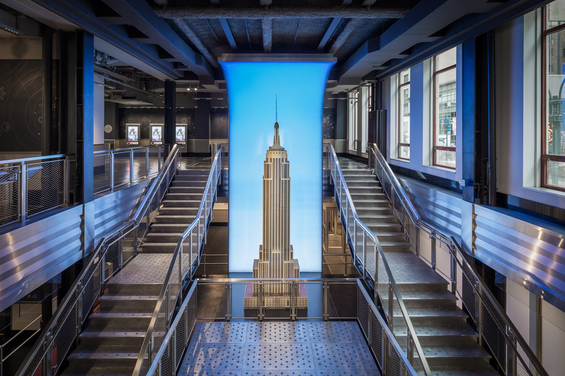 empire state building reveals its new deco inspired observatory