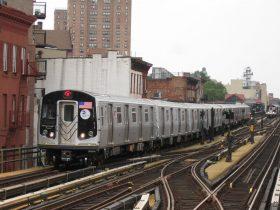 subway car M train