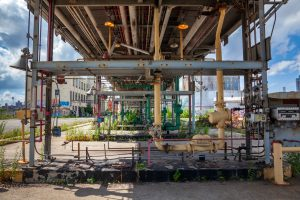 Maker Park, THE TANKS at Bushwick Inlet Park, Bayside Oil Depot, Williamsburg waterfront, fuel tanks, Karen Zabarsky, Stacey Anderson