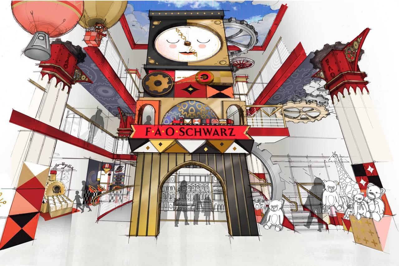 Fao Schwarz World Map.Fao Schwarz Will Reopen This November In Rockefeller Center 6sqft