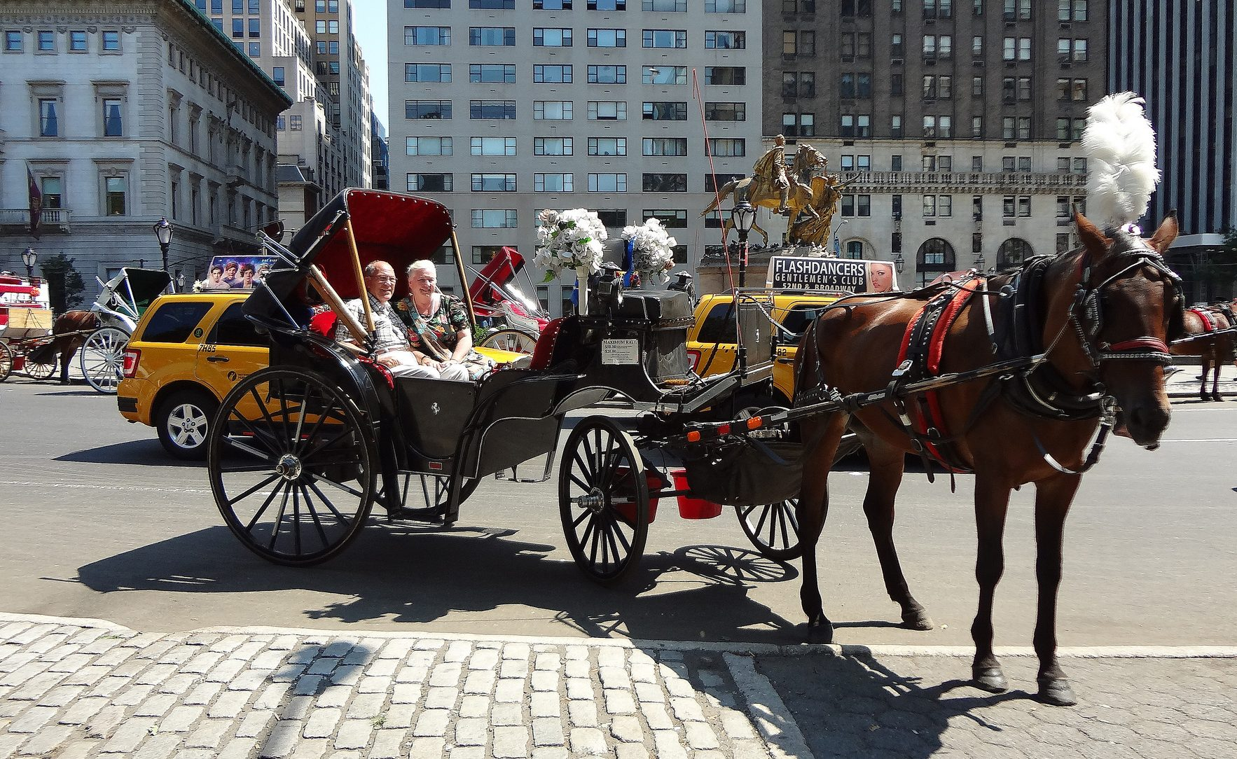 Central Park's horse-drawn carriages are getting 'designated boarding  areas' | 6sqft
