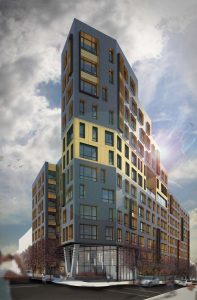 MLK Plaza Apartments, Mott Haven, Magnusson Architecture and Planning, 869 East 147th Street