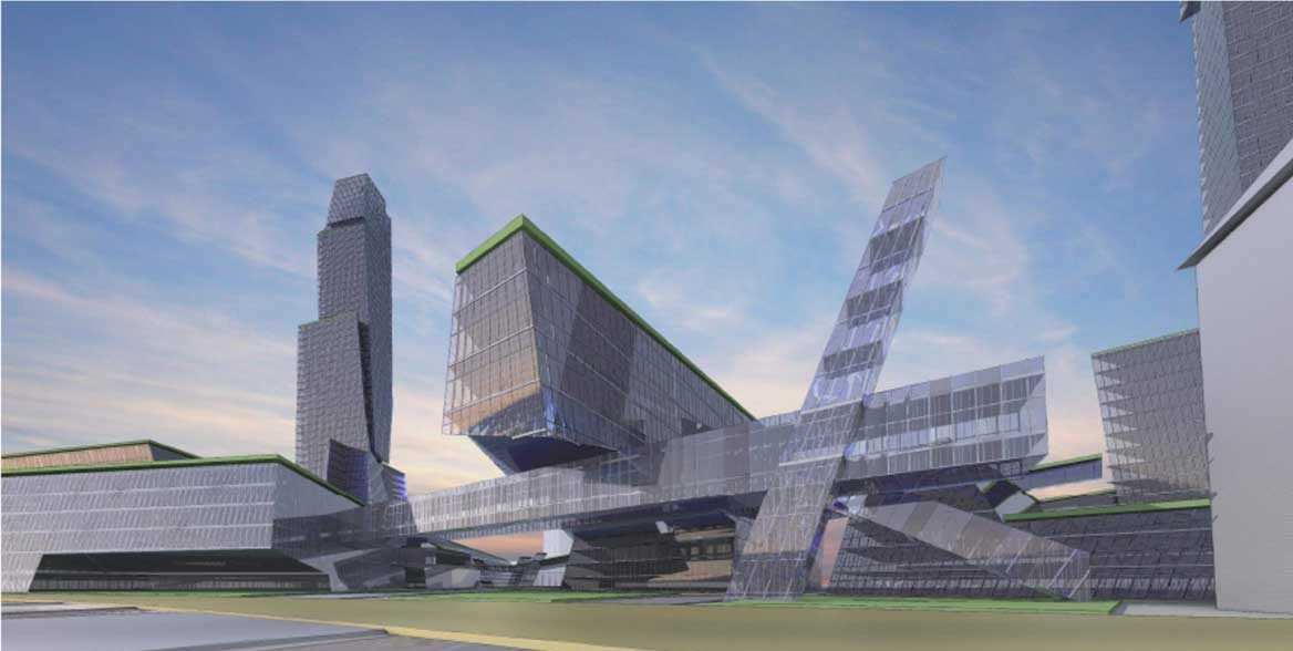 Newark complex designed as Amazon HQ2 bid would include the