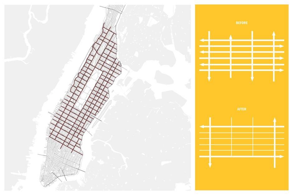 Perkins Eastman Reimagines Manhattan S Street Grid With More