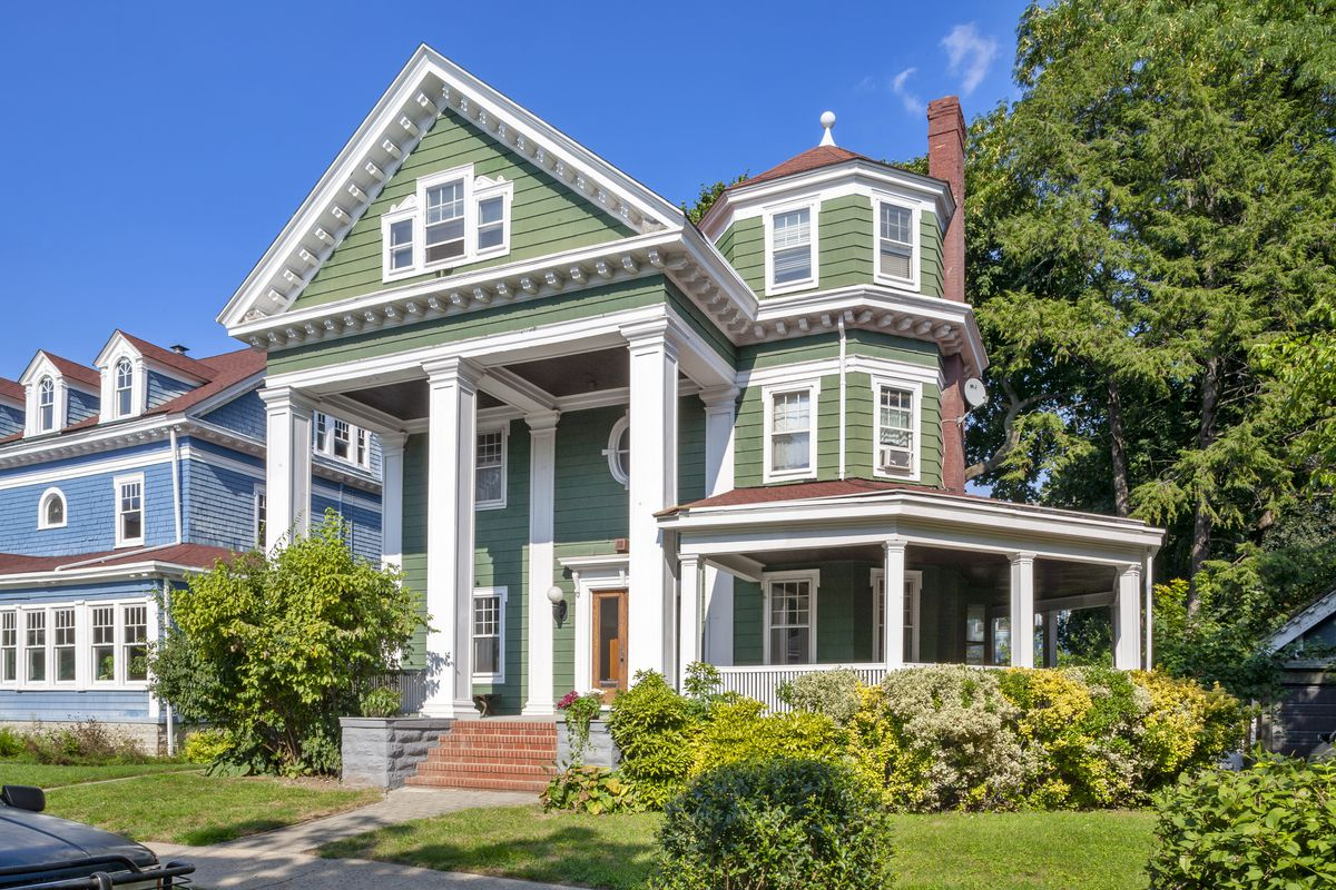 This 2 4m Prospect Park South House Is A Victorian Fantasy Of