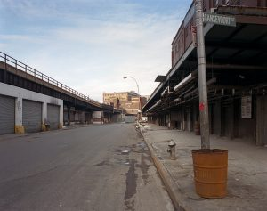 Washington and Gansevoort Street 1985 Brian Rose