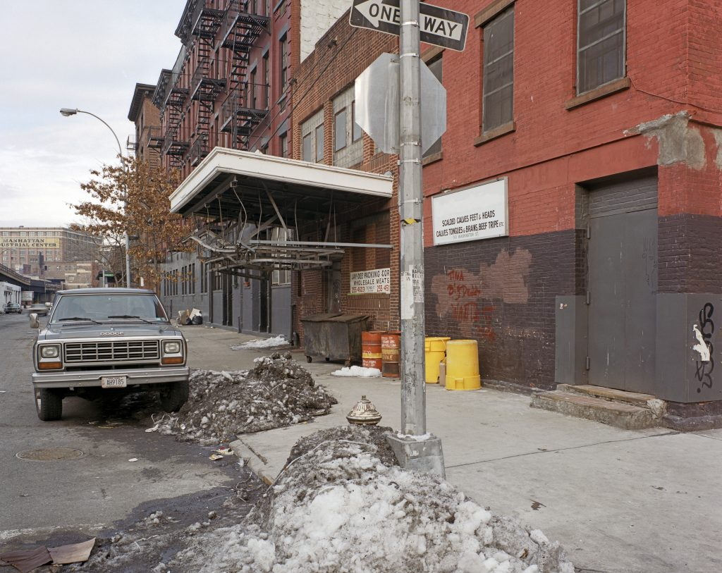 Washington and Jane Street 1985 Brian Rose