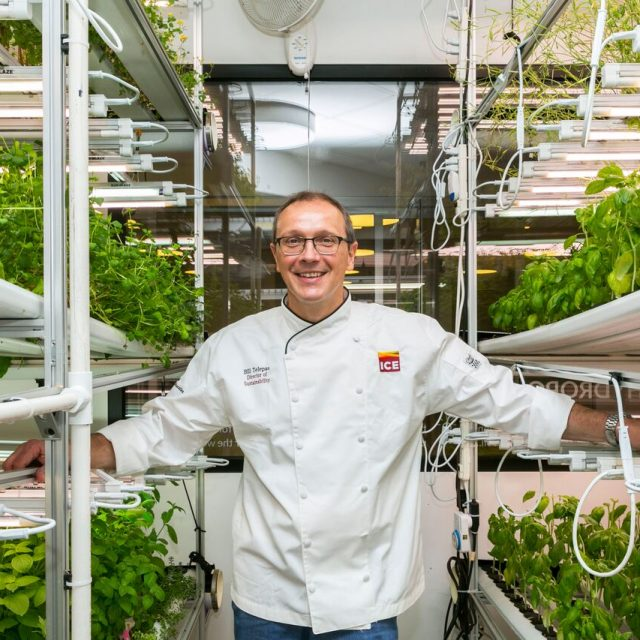 Where I Work: Chef Bill Telepan takes us inside a 'farm-to-classroom' hydroponic garden