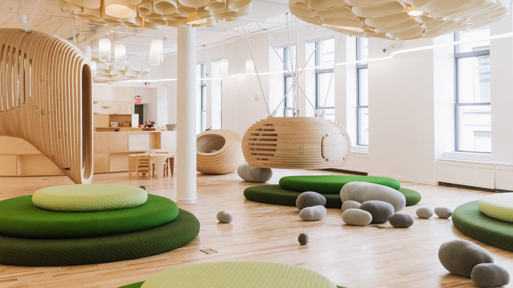 See Inside Wework 39 S First Elementary School In Nyc Designed By Bjarke Ingels 6sqft