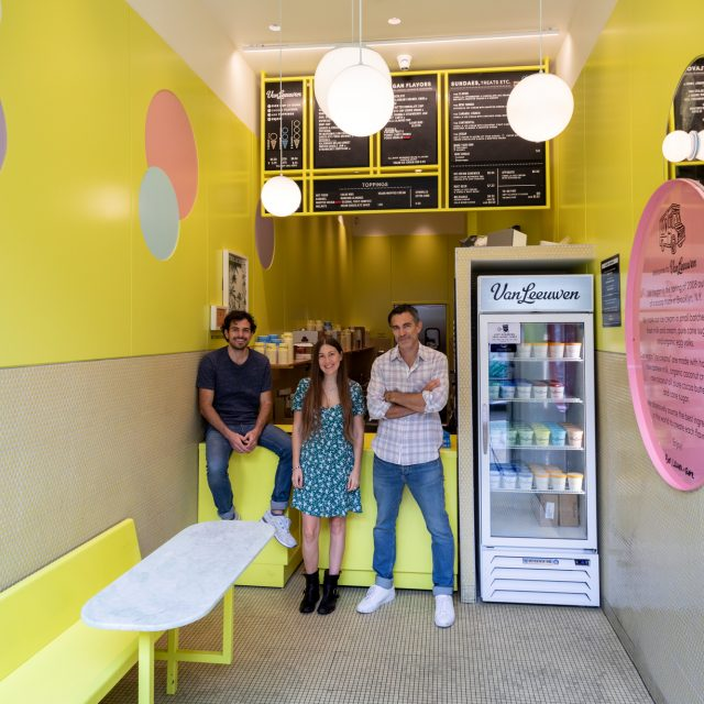 Where I Work: The trio behind Van Leeuwen ice cream show off their pastel-painted UWS shop