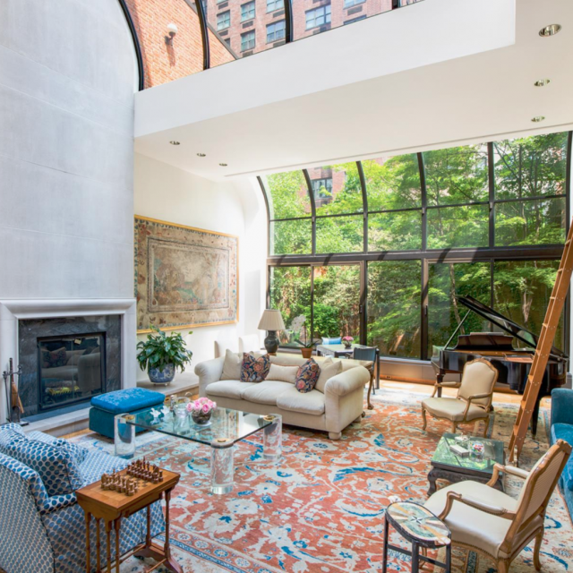 $13.5M UES mansion has a glass elevator, a 50-foot-wide garden, and two floors of the mansion next door