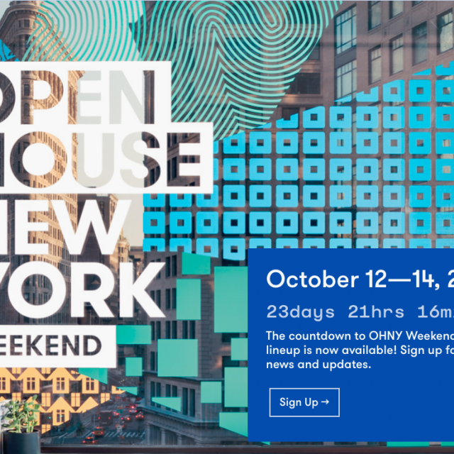 Schedule for 2018 Open House New York sites and events is now live