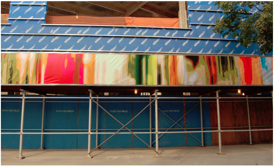 City calls on artists to add flair to drab construction fences in two-year pilot program