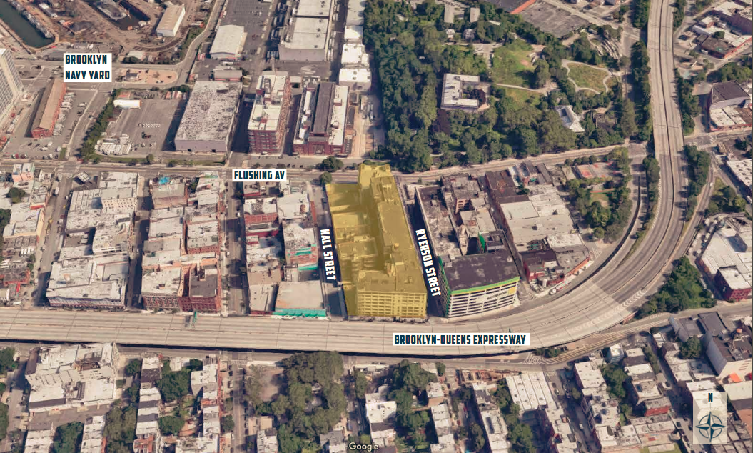 Across from the Brooklyn Navy Yard, RXR plans a 10-building
