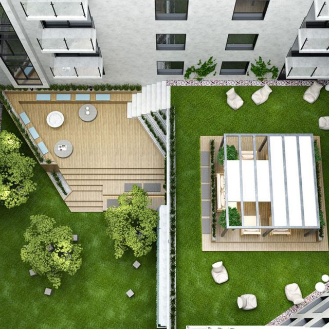 Live in a new East Williamsburg building with roof deck and courtyard for $801/month