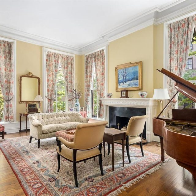 Live in grand mansion style in this $5.25M Brooklyn Heights 'house within a house' co-op