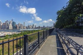 brooklyn heights promenade, bqe, brooklyn heights