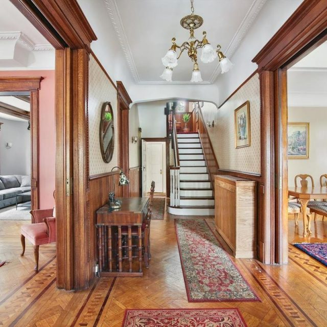 This $3M Victorian gem in Prospect Park South is blessed with gorgeous details and outdoor space