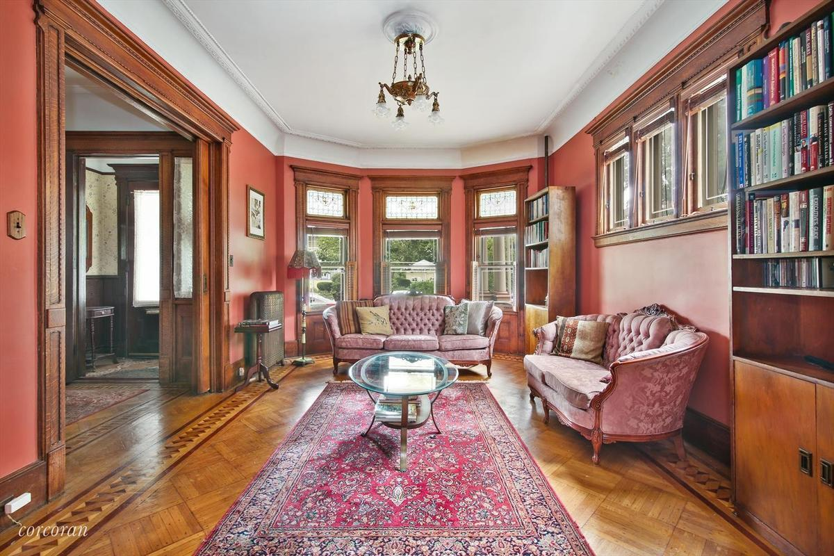 214 Marlborough Road, Cool Listings, Prospect Park South, Victorian Flatbush, townhouses, cool listings
