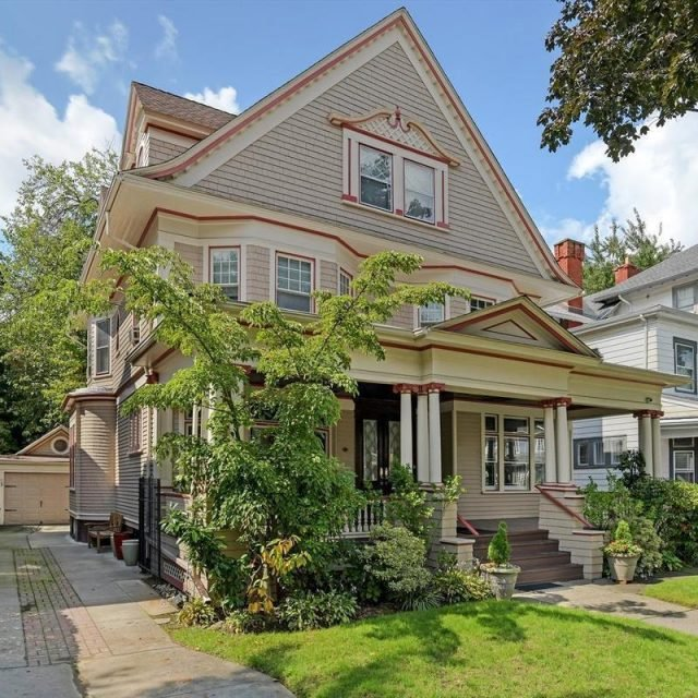 $3M Victorian gem in Prospect Park South is blessed with gorgeous details and outdoor space