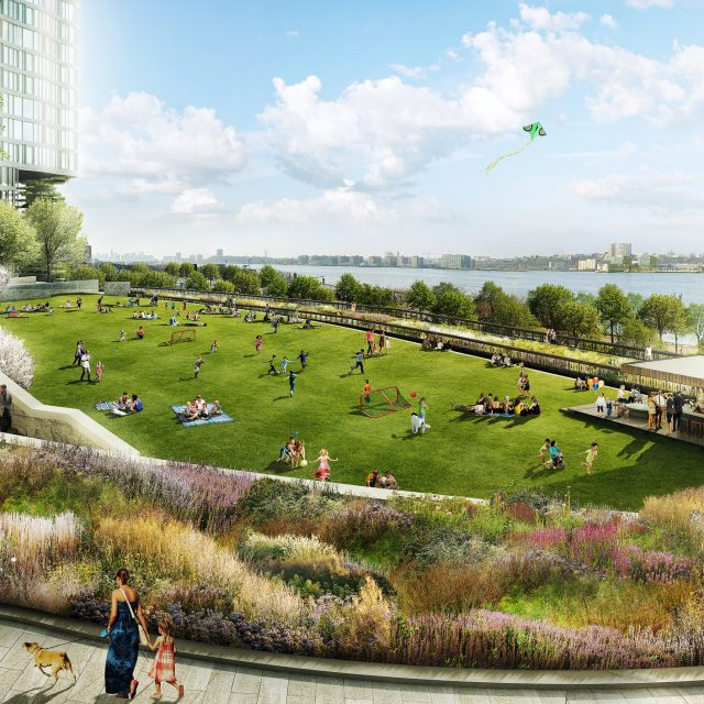 REVEALED: Designs for Hudson Yards' second phase of parkland
