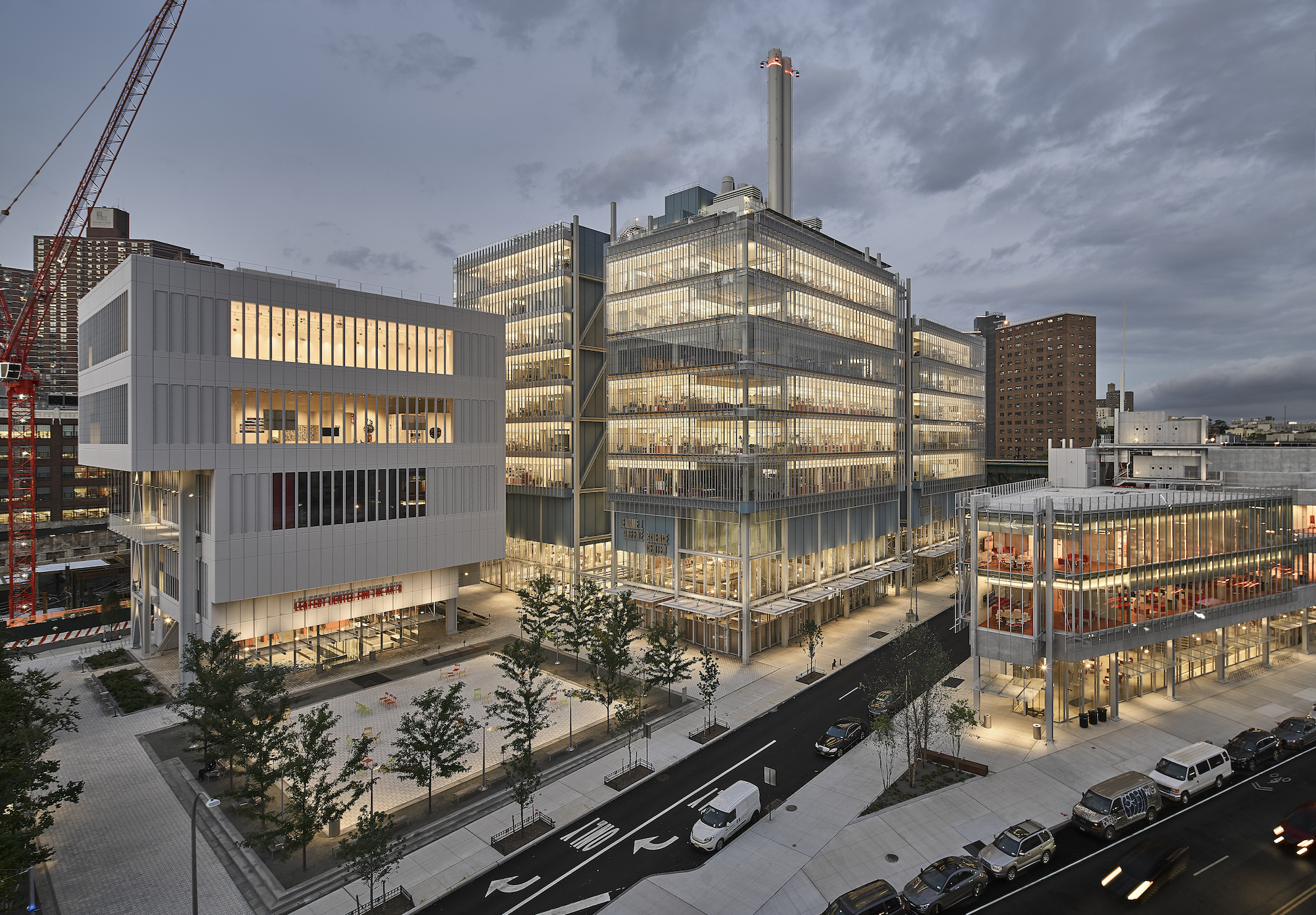 Manhattanville Campus Map.Renzo Piano Unveils His Third And Final Building At Columbia S