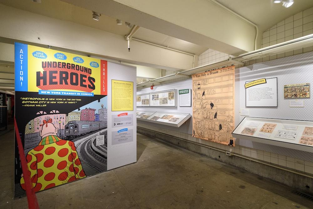 new york transit museum, underground heroes,