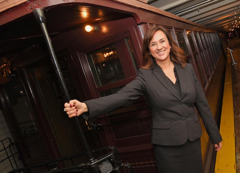 Concetta Bencivenga, director, new york transit museum
