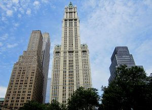 woolworth building, nyc buildings, terra cotta nyc