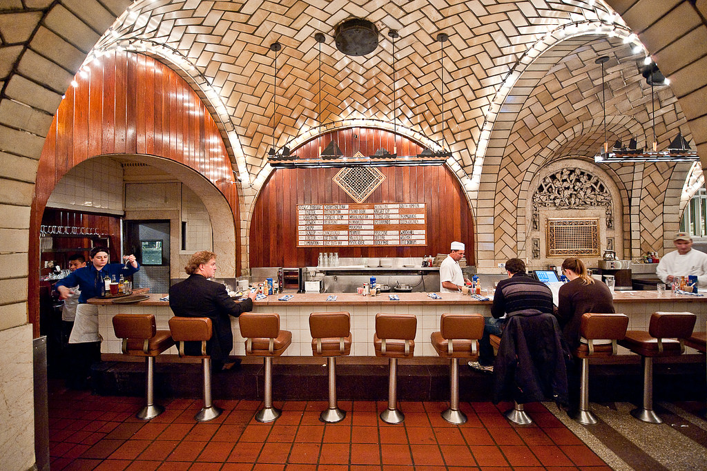 oyster bar, grand central terminal, terra-cotta nyc