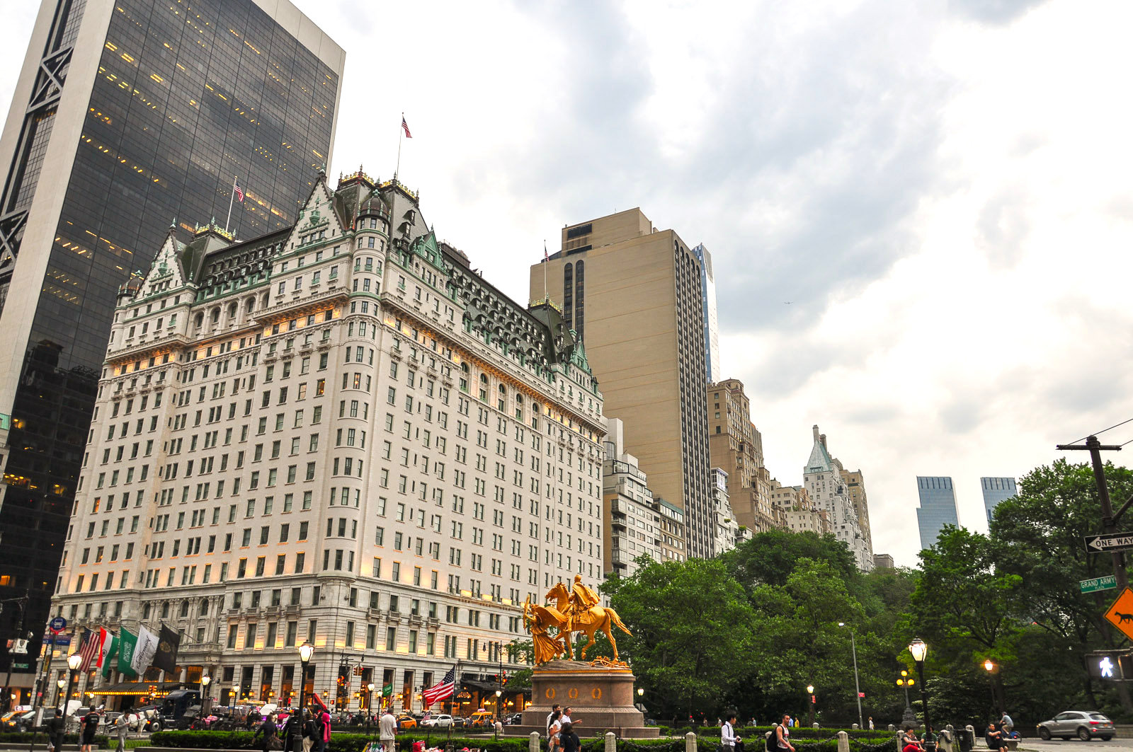 the plaza hotel, nyc buildings, the plaza