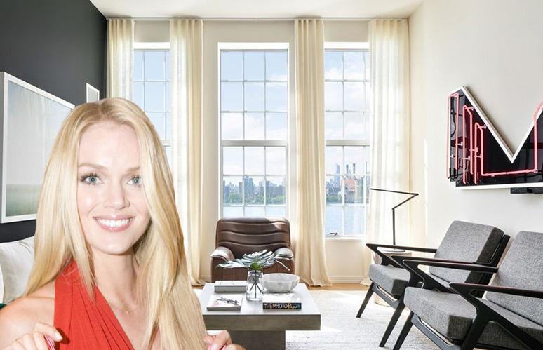 Victoria's Secret model Lindsay Ellingson struts into a $1.4M Williamsburg pad