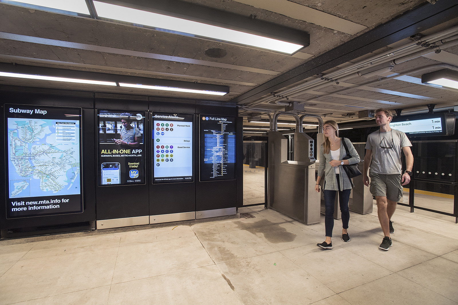 72nd Street Subway Map.72nd Street B C Station Outside The Dakota Reopens With Mosaics By