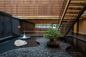 Japan Society, 333 East 47th Street, Japanese architecture