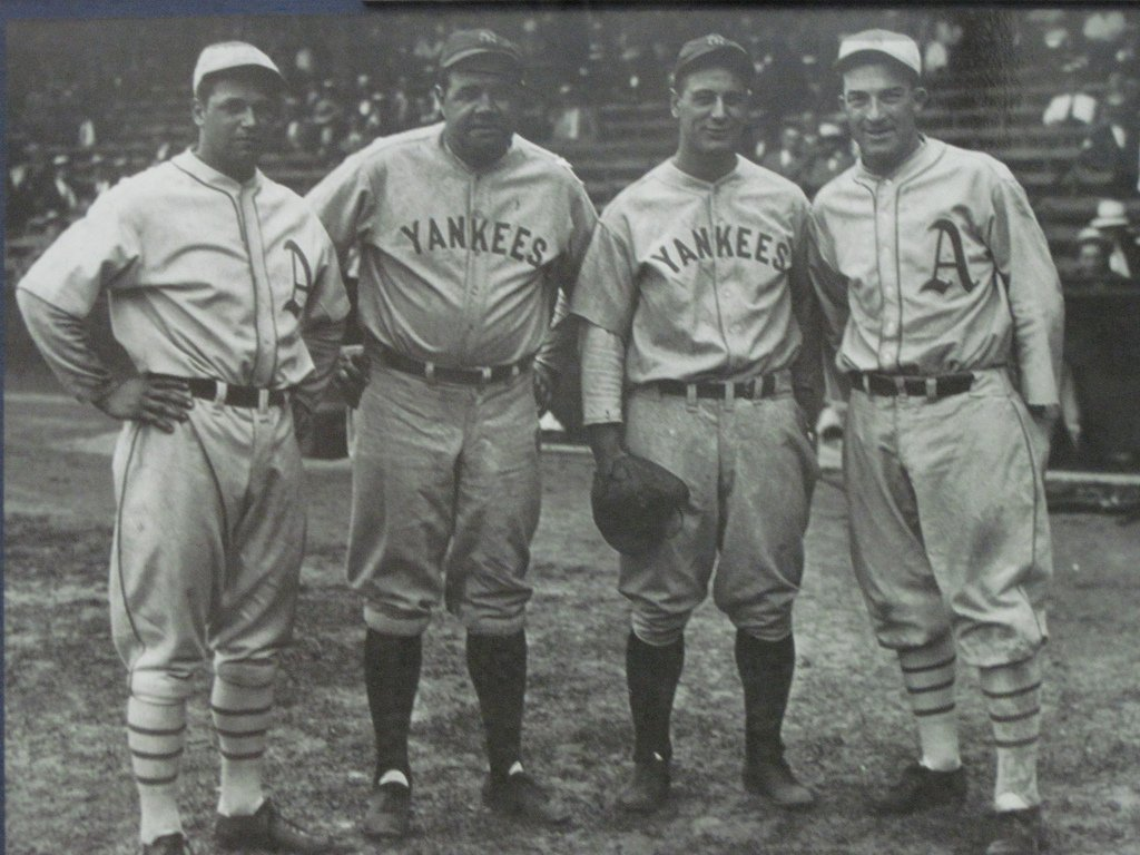 The History Behind The Interlocking Ny Logo On The Yankees Uniform  6Sqft-5379