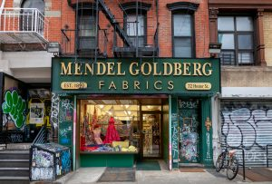 Mendel Goldberg Fabrics, Lower East Side fabric store, NYC fabric store