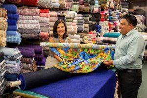 Mendel Goldberg Fabrics, Lower East Side fabric store, NYC fabric store