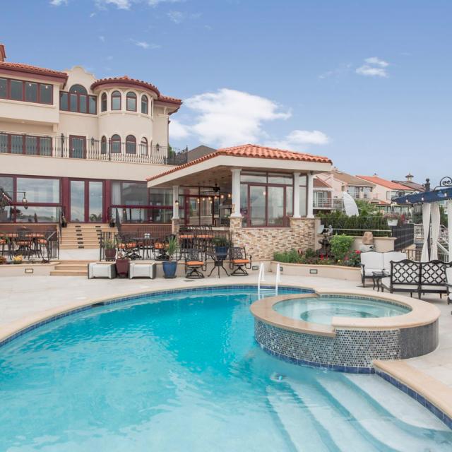 $8M mansion is a 'waterfront Mediterranean villa' in Queens
